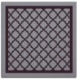 rug #857495 | square purple geometry rug