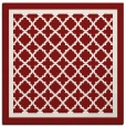 rug #857510 | square traditional rug