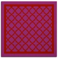 rug #857511 | square pink traditional rug