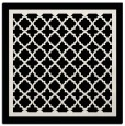 rug #857531 | square black borders rug