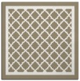 rug #857551 | square beige traditional rug