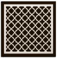 rug #857563 | square brown borders rug