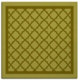 rug #857579 | square light-green borders rug