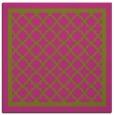 rug #857587 | square pink borders rug