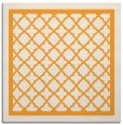 rug #857607 | square white geometry rug