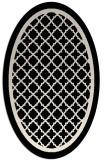 rug #857659 | oval traditional rug