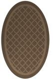 rug #857706 | oval borders rug