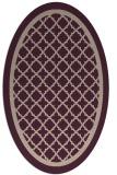 rug #857755 | oval borders rug