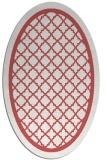 rug #857817 | oval borders rug