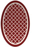 rug #857846 | oval borders rug