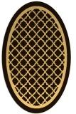 rug #857901   oval geometry rug
