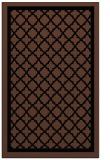 rug #857947 |  brown traditional rug