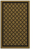rug #857951 |  mid-brown borders rug