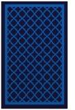 rug #857963 |  blue borders rug
