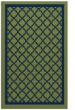 rug #857975 |  blue traditional rug
