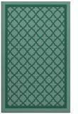 rug #857987 |  blue-green borders rug