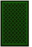 rug #857991 |  green borders rug
