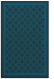 rug #857999 |  blue borders rug