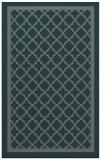 rug #858055 |  green borders rug