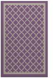 rug #858107 |  purple borders rug