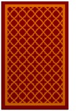 rug #858123 |  orange traditional rug