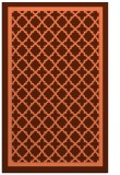 rug #858135 |  orange traditional rug
