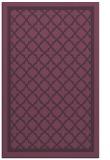 rug #858155    purple borders rug