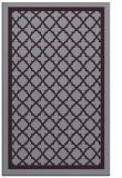 rug #858167 |  purple traditional rug