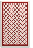 rug #858179 |  red traditional rug