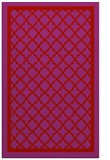 rug #858183 |  red traditional rug