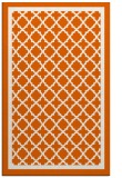 rug #858199 |  red-orange traditional rug