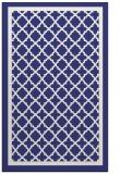 rug #858211 |  blue borders rug
