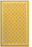 rug #858227 |  yellow geometry rug