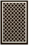 rug #858235 |  brown borders rug