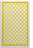 rug #858239 |  yellow geometry rug