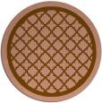 rug #858406 | round borders rug