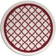 rug #858479 | round pink rug