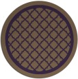 rug #858499   round purple borders rug