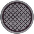 rug #858503 | round purple borders rug