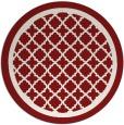 rug #858518   round traditional rug
