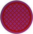 rug #858519 | round red borders rug