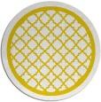 rug #858575 | round yellow borders rug