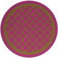 rug #858595 | round pink borders rug