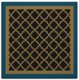 rug #862327 | square mid-brown rug