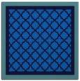 rug #862331 | square blue rug