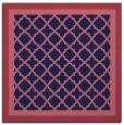 rug #862395 | square blue-violet rug