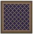 rug #862407 | square blue-violet geometry rug