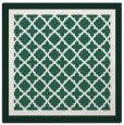 rug #862427 | square green traditional rug