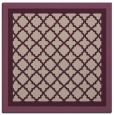 rug #862451 | square pink borders rug
