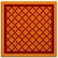 rug #862491   square red-orange borders rug